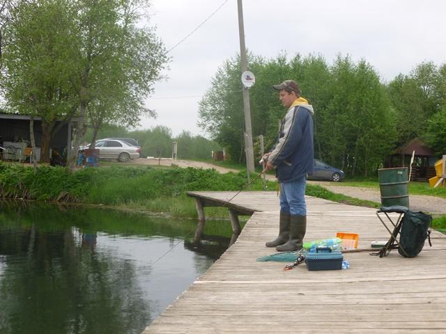 кипень пруд рыбалка